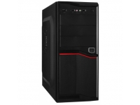 Корпус EXEGATE AB-220 (БП AB400, 80MM, ATX, 3*SATA, USB, AUDIO) BLACK
