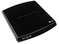 DVD-/+R/RW/-8X SLIM EXT/USB2 BLACK GP10NB20 LG