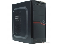 Корпус EXEGATE AB-220A BLACK, ATX, AAA400W, 80MM, 2*USB, AUDIO