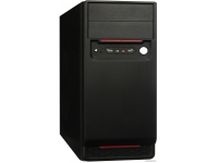 Корпус EXEGATE AA-324 (БП AA400, 80MM, ATX, 2*SATA, USB, AUDIO) BLACK