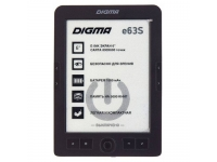 "Электронная книга DIGMA E63S 6"" E-INK CARTA 4GB"