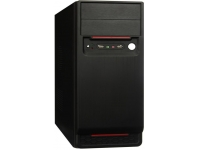 Корпус EXEGATE AA-324 (БП AA350, 80MM, ATX, 2*SATA, USB, AUDIO) BLACK