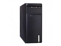 Корпус EXEGATE AA-323 (БП AA400, 80MM, ATX, 3*SATA, USB, AUDIO) BLACK